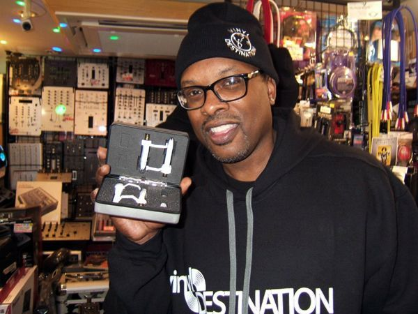 DJ JAZZY JEFF with TARUYA Needle made in JAPAN