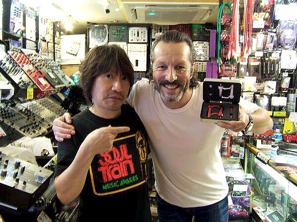 DJ HARVEY with TARUYA Stylus made in JAPAN