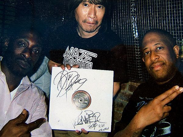 DJ PREMIER @Shibuya with TARUYA Stylus made in JAPAN