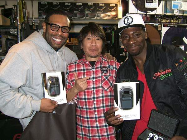 PETE ROCK @Shibuya with TARUYA Stylus made in JAPAN