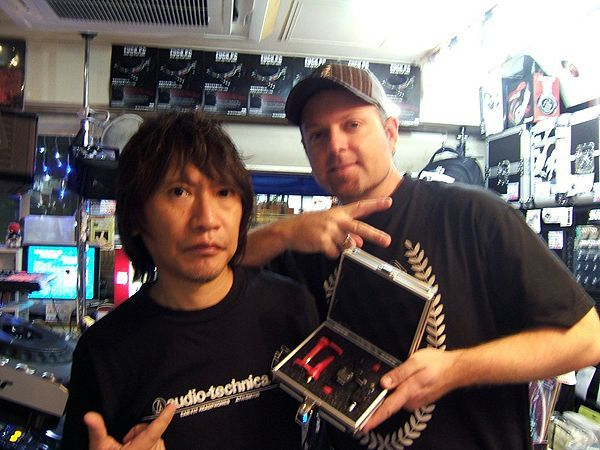 DJ SHADOW @Tokyo with TARUYA cartridge Made in JAPAN