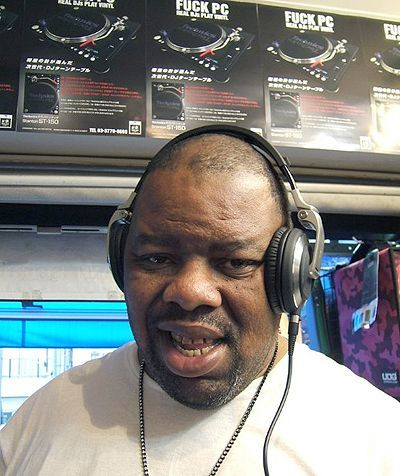 BIZ MARKIE @Disc Jam Tokyo with TARUYA cartridge Made in JAPAN