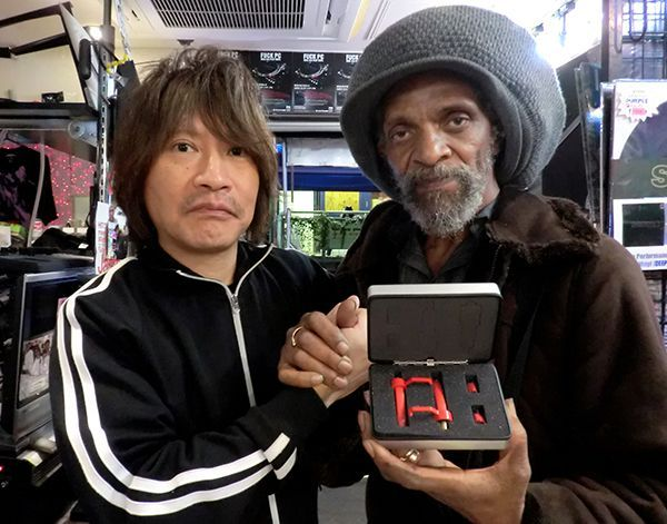 JAH SHAKA @Disc Jam Tokyo with TARUYA cartridge Made in JAPAN