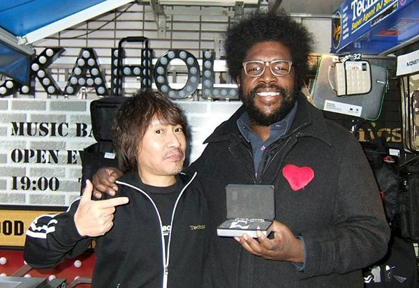 Questlove the Roots with TARUYA cartridge